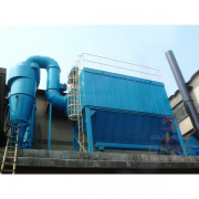 Air box pulse dust collector