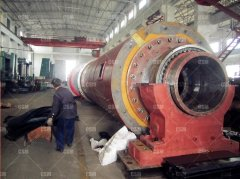 Rubber lining mill