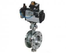 Metal Hard Seated Butterfly Valve