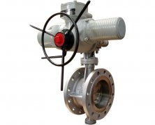 Electric High temperature butterfly valve