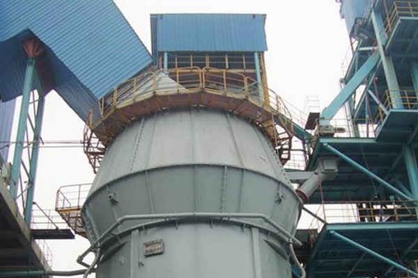 Vertical grinding mill to improve the quality of power produc